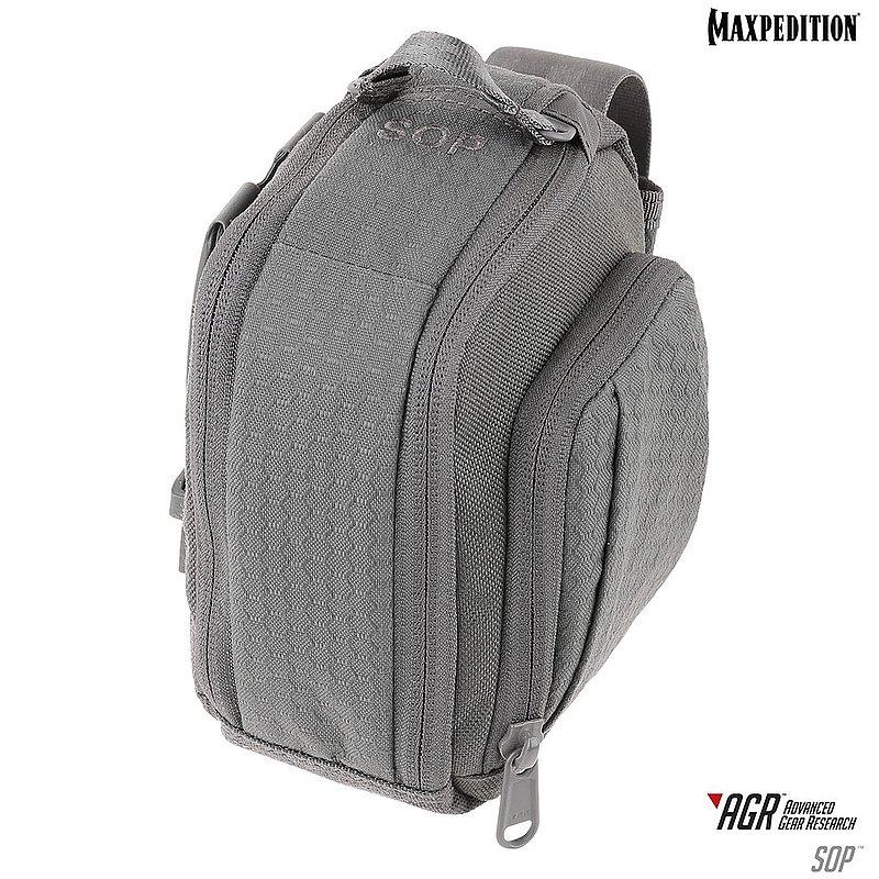 MAXPEDITION AGR進化者 SOP 灰色 側開收納包  腰包 工具包 模組包 郵差包 急救包 雜物包
