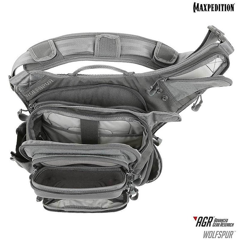MAXPEDITION AGR進化者 TAN狼棕色 Wolfspur™狼牙斜背包11L 工具包 單肩包 郵差包 急救包