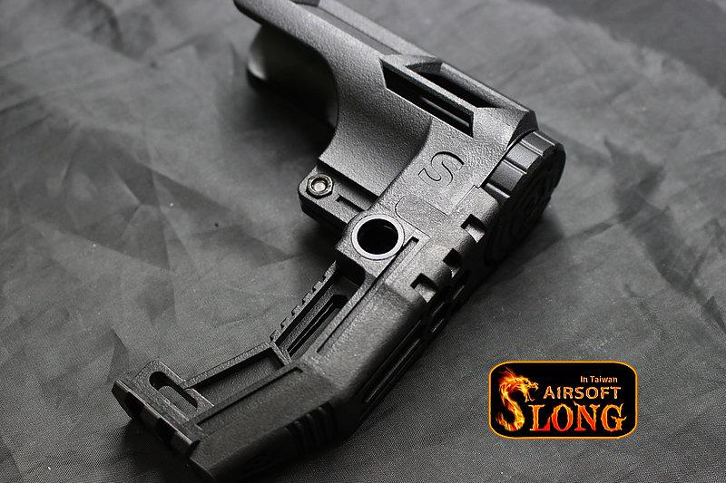 SLONG 神龍 死神鐮刀 後托 槍托 背帶扣 For M4 GBB AEG (SL-00-96)