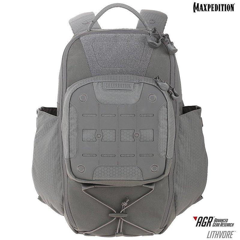 MAXPEDITION AGR 進化者  Lithvore™ EDC 戶外戰術登山雙肩背包 含側水壺袋 17L