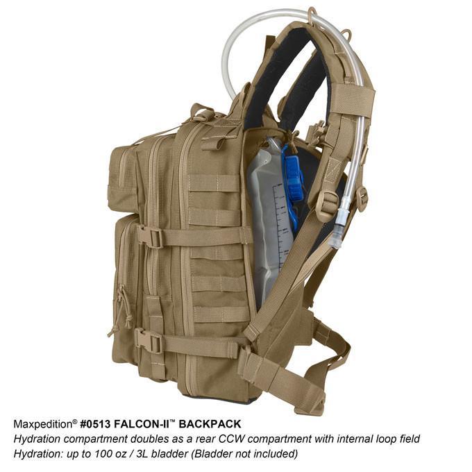 MAXPEDITION  狼棕色 Falcon-II 獵隼戰術背包 23L