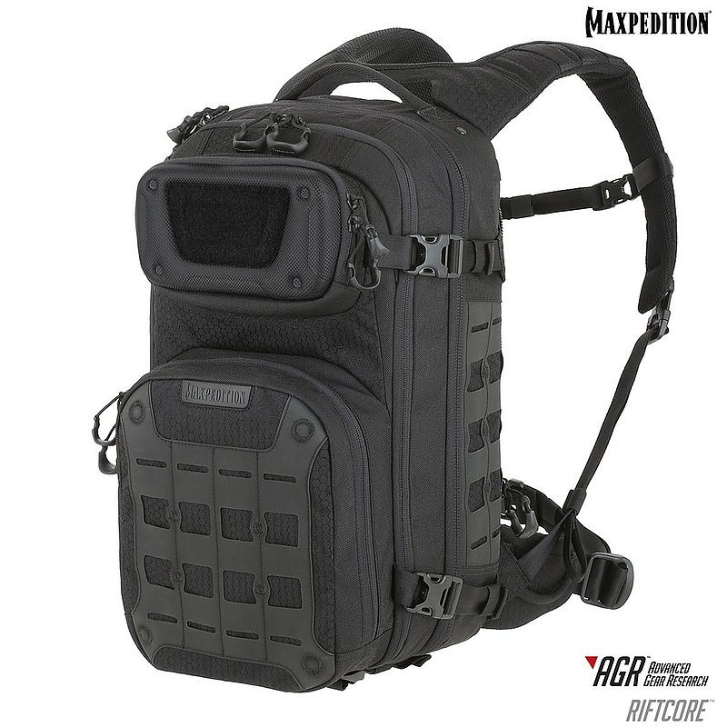 MAXPEDITION AGR 黑色  Riftcore™ CCW 進化者戰術雙肩背包 23L