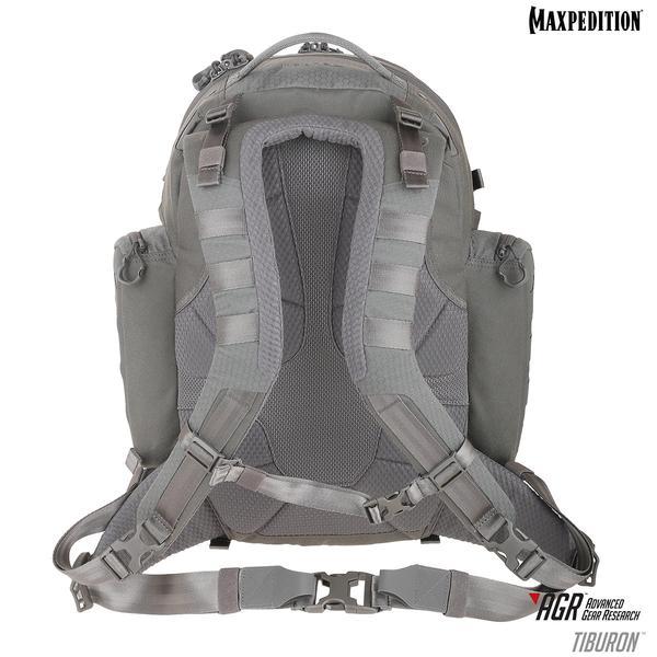 MAXPEDITION 灰色  Tiburo™ AGR 進化者鯊魚34L 戰術雙肩攻擊背包  防潑水、耐磨、質量輕