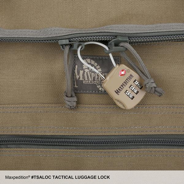 MAXPEDITION  黑色 戰術行李海關鎖