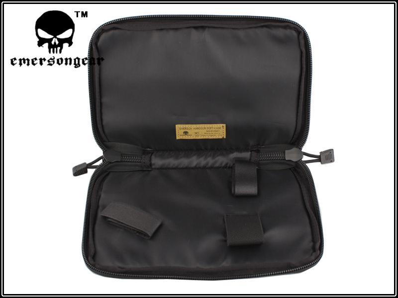 黑色 EmersonGear 愛默生 26x17cm 攜帶式手槍包 手槍袋