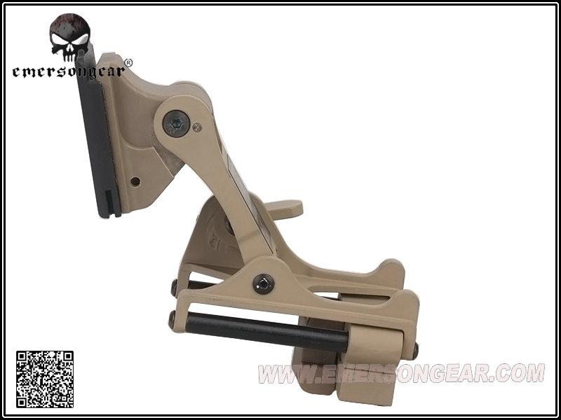 沙色~EMERSON 愛默生 上翻式夜視鏡座 望遠鏡 For PVS-14 / PVS-7