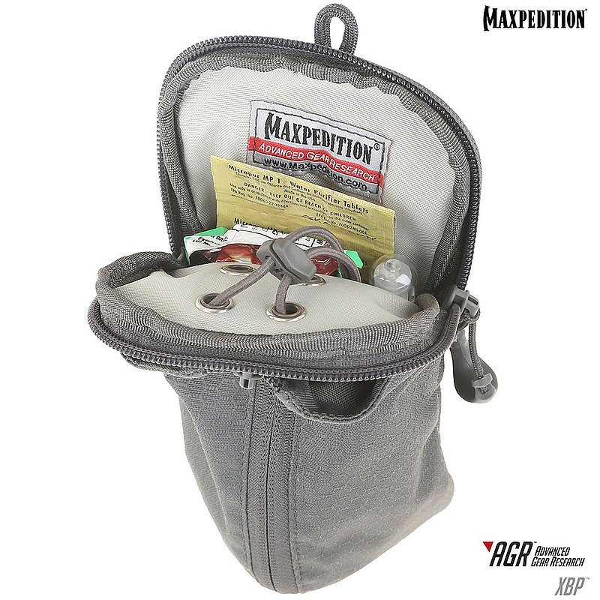 MAXPEDITIONAGR進化者 黑色 XBP擴展型水壺袋 雜物袋