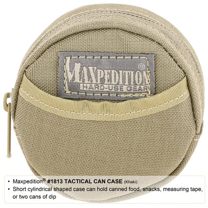 MAXPEDITION 黑色 戰術迷你罐頭零錢包 收納配件包  圓型雜物包