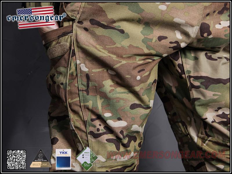 34腰多地迷彩 ~EmersonGear 愛默生 藍標系列 突擊作戰長褲