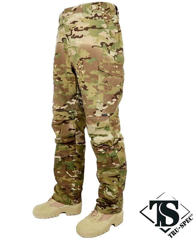 TRU-SPEC【多地迷彩,32腰】極輕5.4盎司!亞洲版 超輕量戰術褲32褲長,長褲