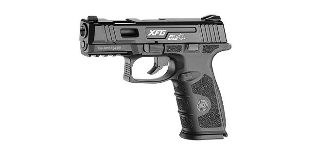 新款ICS 一芝軒 BLE-XFG GBB 瓦斯手槍 瓦斯槍 (黑滑套+黑身)