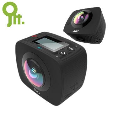 GIGABYTE 技嘉 JOLT DUO 360度 全景雙眼運動攝影機(戶外+生活組) 紀錄器