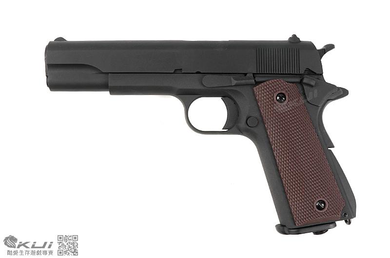 SRC SR-1911 雙動力 全金屬自動退膛手槍,CO2手槍,BB槍(CO-731) 送1911造型鑰匙圈!