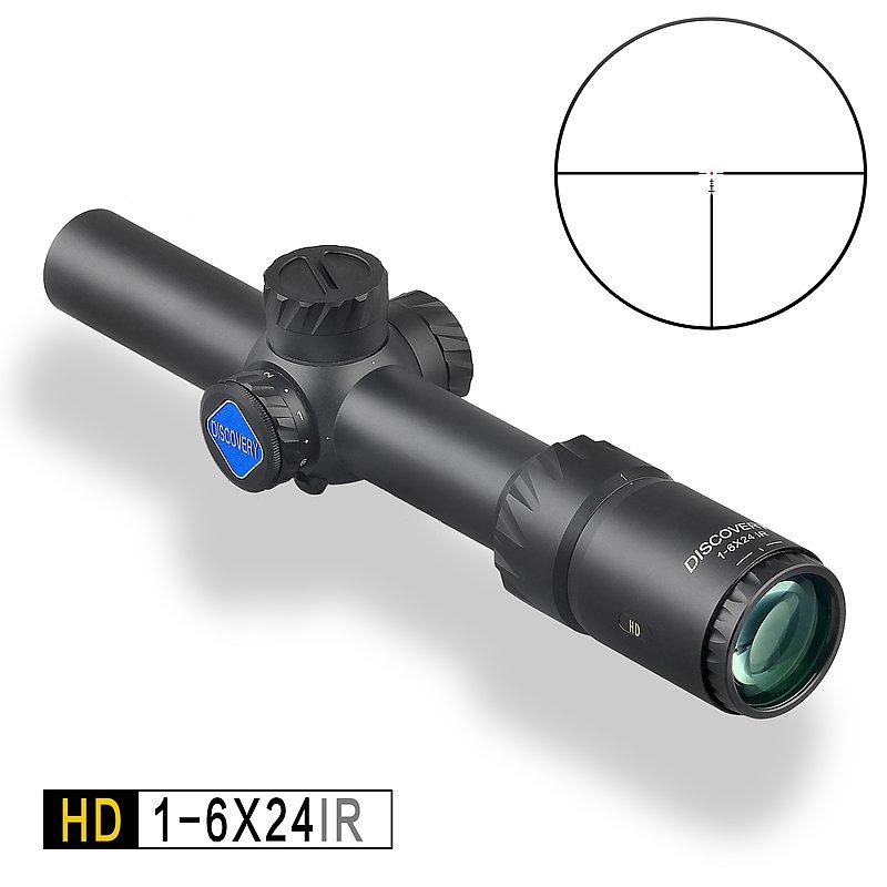 DISCOVERY 發現者 HD 1-6X24IR 真品狙擊鏡,抗震,高清晰,防水防霧