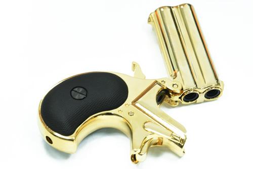 【金色】MAXTACT-DERRINGER 全金屬瓦斯槍 掌心雷 單發系統