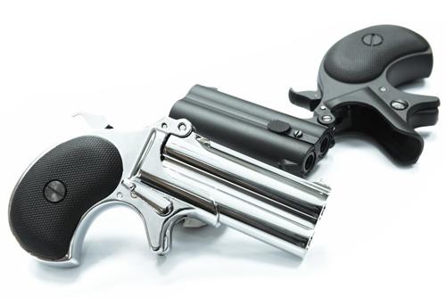 【銀色】MAXTACT-DERRINGER 全金屬瓦斯槍 掌心雷 單發系統