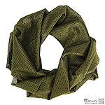 點一下即可放大預覽 -- OD綠網狀圍巾、方巾、圍巾、披肩、頭巾~可當偽裝網使用