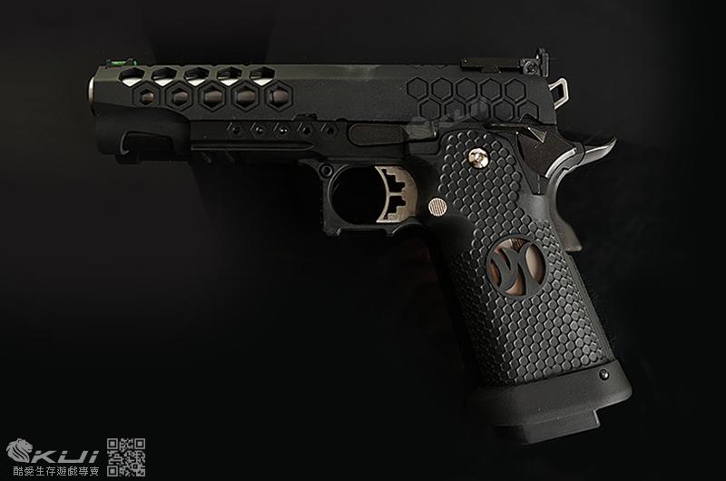AW CUSTOM【黑色】 HI-CAPA 5.1 HX2502 全金屬 瓦斯手槍 IPSC
