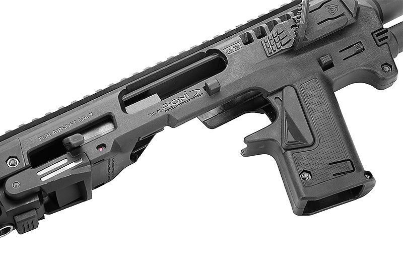 CAA MicroRONI 長射程版 WE 克拉克 G17 戰術衝鋒槍套件組(授權刻字)