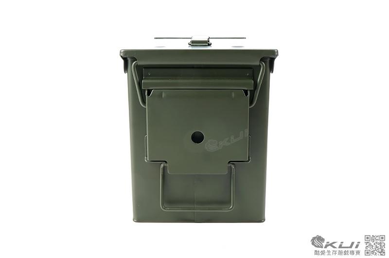 美軍型號 M2A1(中型) 3ATM防水7.62 5.56mm 防潮 金屬彈藥箱 工具箱28x14cm
