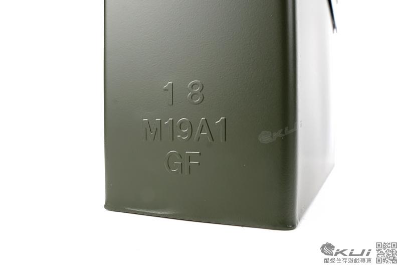 美軍型號 M19A1(小型) 3ATM防水7.62 5.56mm 防潮 金屬彈藥箱 工具箱27x9cm