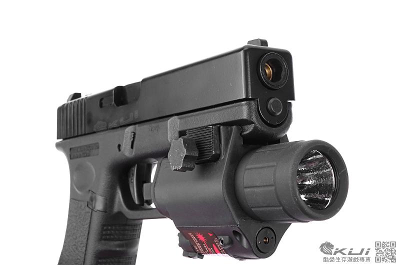M6 紅雷射+槍燈版~HFC G17 克拉克 瓦斯槍,手槍,BB槍