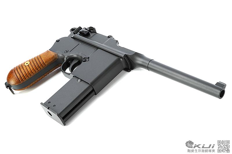 [雙匣版] HFC 全金屬盒子砲瓦斯槍,BB槍(復古軍用毛瑟槍)(cosplay 必備配件)