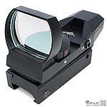點一下即可放大預覽 -- 高階~L型快瞄鏡(全金屬+5段紅綠光+四種瞄點+四向可調),內紅點,瞄準鏡