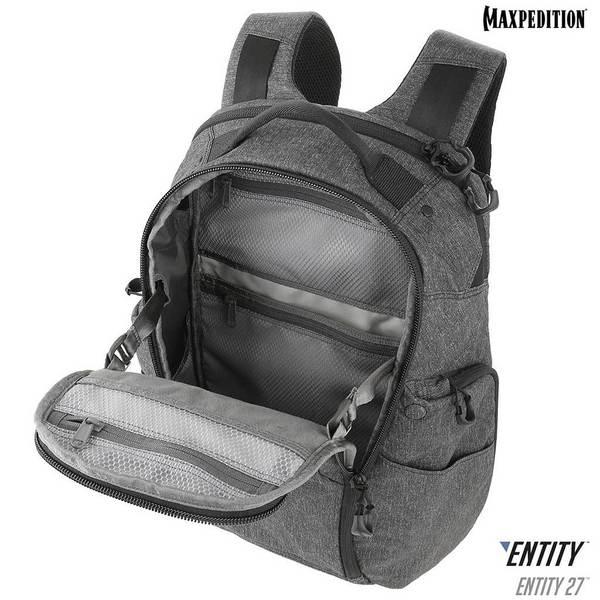 MAXPEDITION【淺灰色】ENTITY 隱形者 27公升 攜行通勤筆電後背包