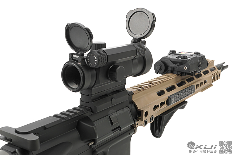 SMR MK4 KWA/KSC M4A1 ERG 電動槍,電槍(無彈斷電設計,有後座力,後出線)