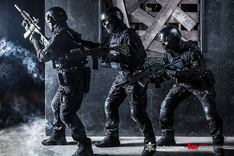 VFC【黑色】 HK416A5 AEG電動步槍