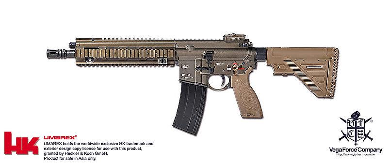 開放卡位 不用訂金【沙色】VFC HK416A5 AEG電動步槍