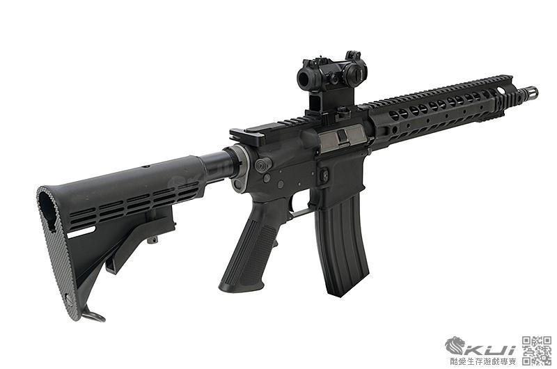 "WE M4 12.5""URX III RAS魚骨 突擊步槍 GBB 瓦斯長槍 有後作力"