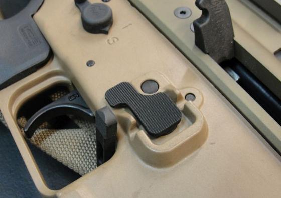 RENEGADE-TECH【狼棕沙】SCAR S式卸彈鈕 6061實料CNC製程 for VFC WE