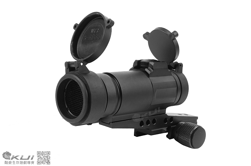 買內紅點送瞄具∼ M4 紅膜 抗震內紅點 快瞄鏡,防震