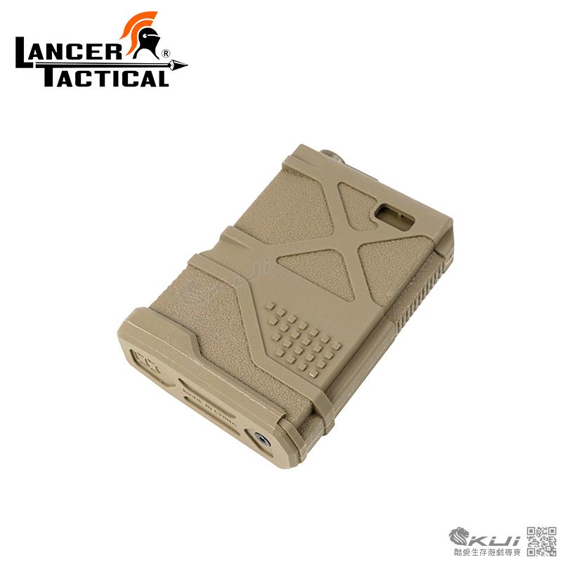 LANCER TACTICAL【沙色】 LT-29 MIDMAD M4/16短彈匣 70發短無聲彈匣 TAN