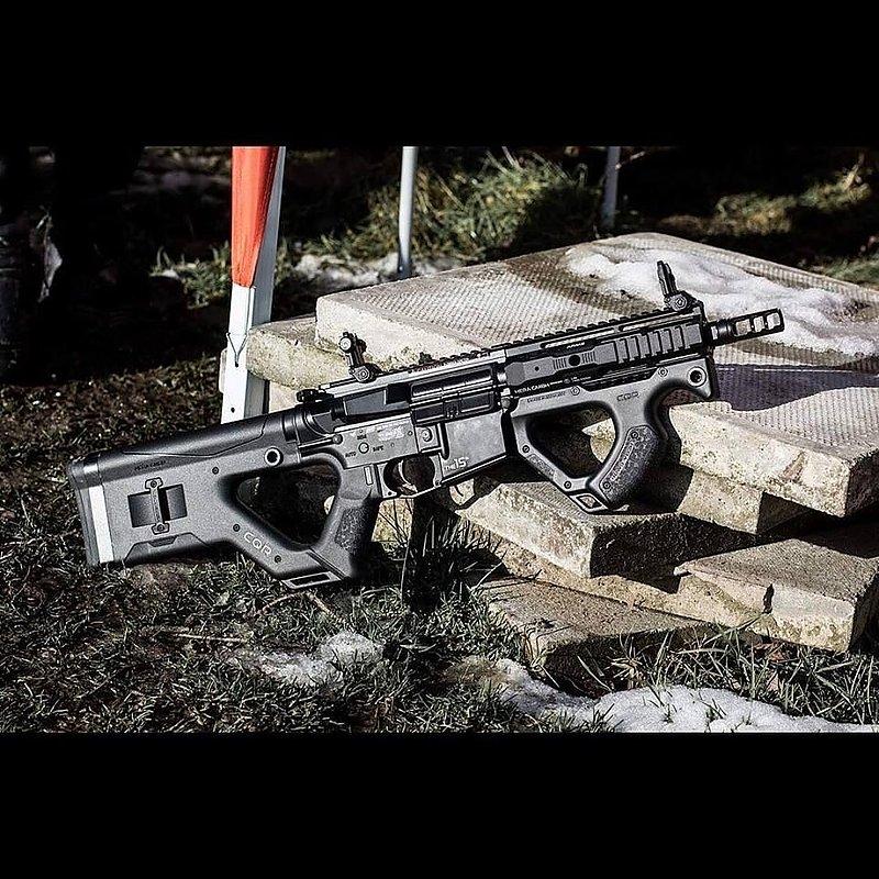 一芝軒 ICS & HERA Arms CQR 電動步槍 全黑 全新二代電子扳機版本