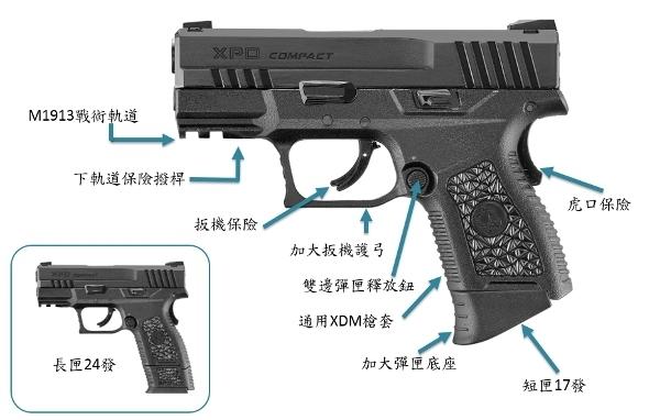ICS 一芝軒【黑沙雙色】BLE XPD 緊緻型 GBB瓦斯槍 手槍