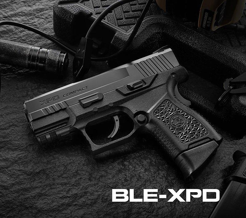預購~4月到貨 ICS 一芝軒【沙黑雙色】BLE XPD 緊緻型 GBB瓦斯槍 手槍