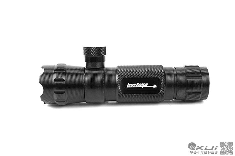 攻擊頭-外調綠雷射 綠外線 金屬 瞄具 雷射專用夾具 配件 手槍 長槍 老鼠尾