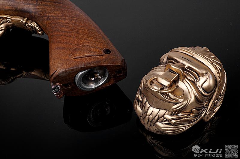 HFC【銀色】6mm 十八世紀海盜燧發槍 全金屬CO2手槍,海盜槍,火繩槍