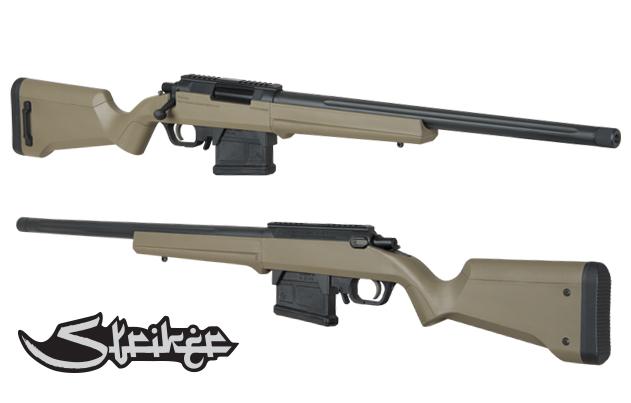 沙色 ARES AMOEBA AS01 狙擊槍 手拉空氣槍 ESD M160 UP 初速強化升級版