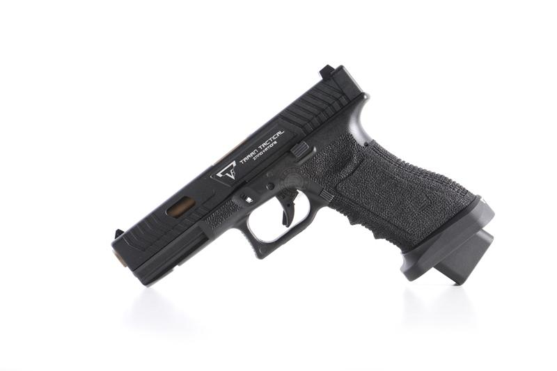 BELL TTI G17 JOHN WICK 瓦斯手槍(附槍盒)