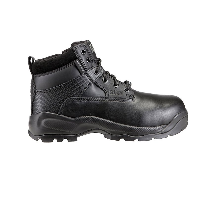 5.11【黑色-7.5號】A.T.A.C. 寛楦 6吋靴,軍靴 戰術靴 短筒