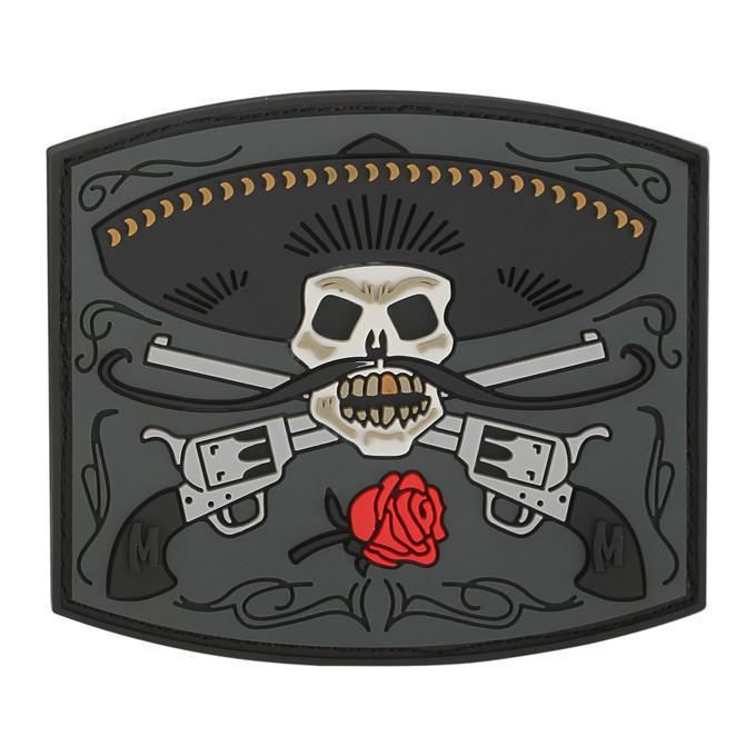 MAXPEDITION【SWAT】EL GUAPO PVC軟膠臂章 66x58mm