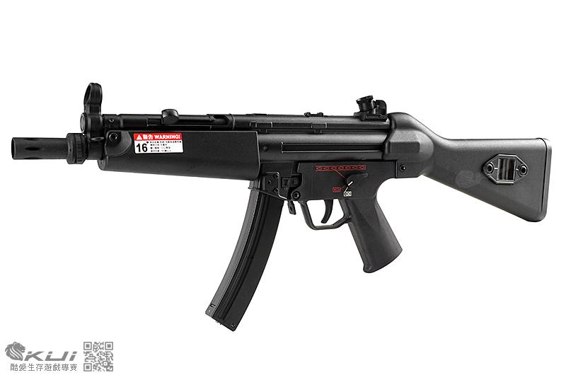 手槍價!SRC MP5-A4 運動版 固定托 AEG電動衝鋒槍,電槍 (多連彈匣)
