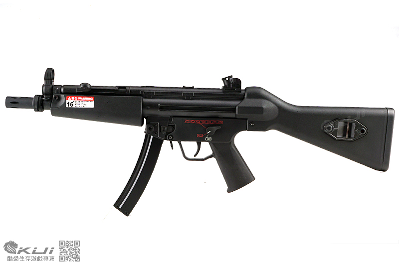 SRC MP5-A4 運動版 固定托 AEG電動衝鋒槍,電槍 (多連彈匣)