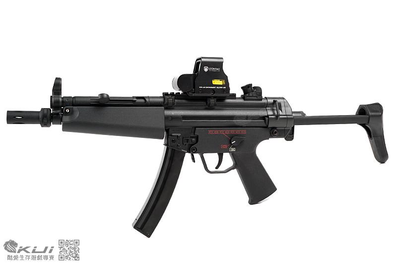 SRC MP5-A5 運動版 伸縮托 AEG電動衝鋒槍,電槍 (多連彈匣)