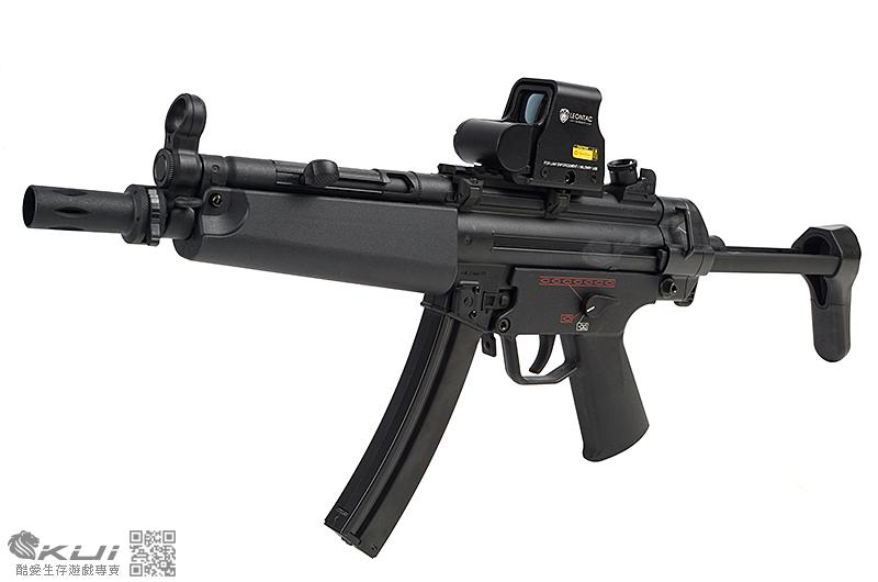 歲末行動~SRC MP5-A5 運動版 伸縮托 AEG電動衝鋒槍,電槍 (靜音彈匣)