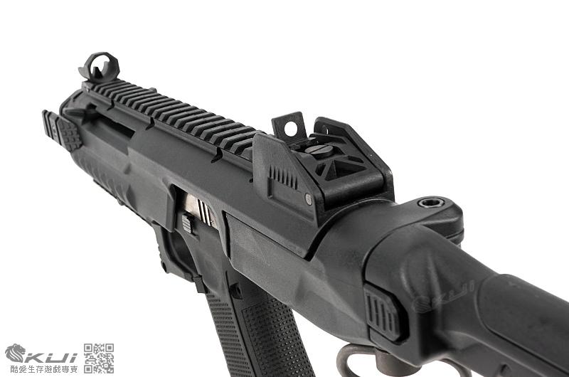 AW Custom WE【黑色】克拉克 衝鋒槍 卡賓套件(G17/18/19/23/34/35)
